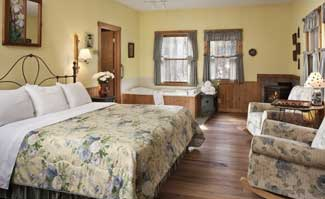 The Inn & Spa at Cedar Falls offers the Cozy Queen Cottages that has all the modern facilities to make your stay more comfortable while still getting close to nature.