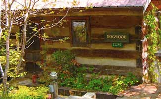 Hocking hills cabins cabin rentals inn spa at cedar for Dogwood cabin