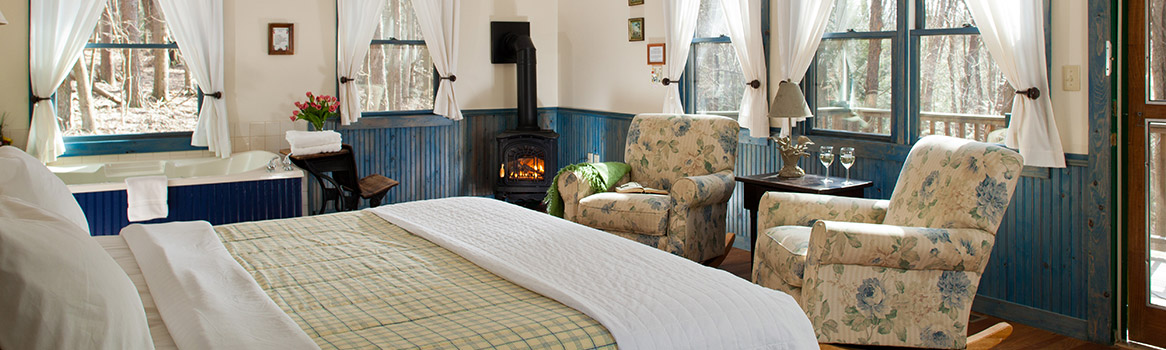 Beautifully furnished cottages in Hocking Hills by the Inn and Spa at Cedar Falls