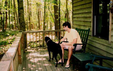 Hocking Hills dog friendly cabins