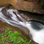 The Devil's Bathtub in Hocking Hills State Park