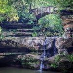 Upper Falls at Old Man's Cave