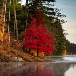 October at Lake Hope in Zaleski State Forest, Ohio
