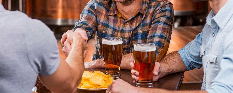 guys at brewery; Hocking Hills Breweries