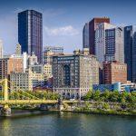 Pittsburgh skyline on weekend getaways from Pittsburgh