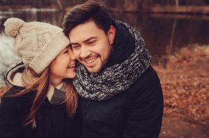 couple enjoying the sweethearts hike