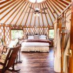Yurts Bedroom view