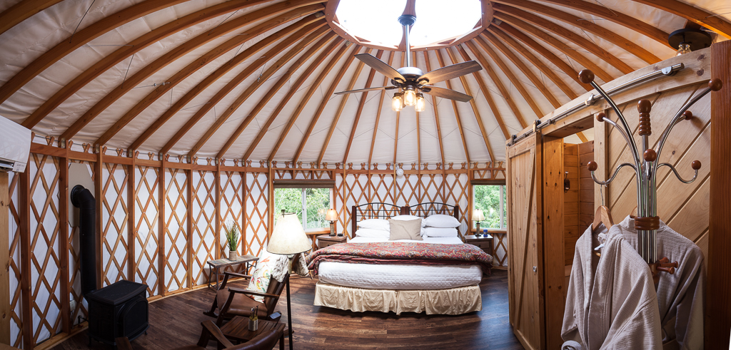 The ultimate yurt camping in ohio experience awaits for Camp gioia ohio cabine