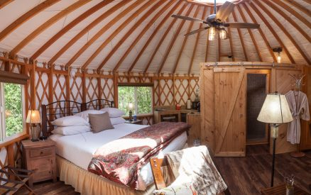 Yurts Bed View