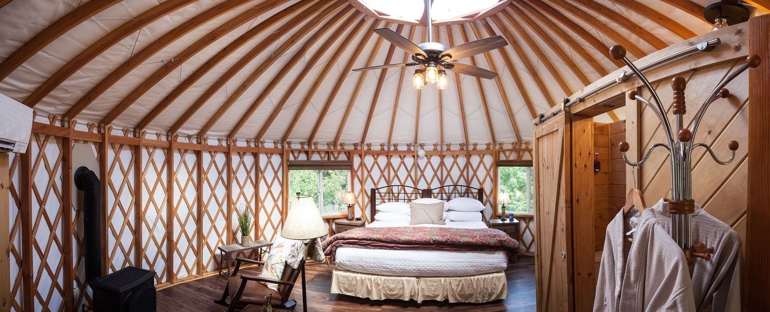 Hocking Hills Yurt