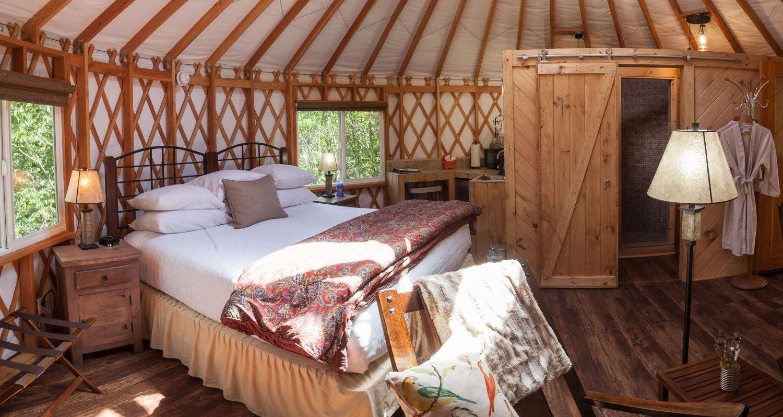 Yurts - Inn and Spa at Cedar Falls