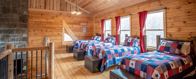 patriot lodde bedroom