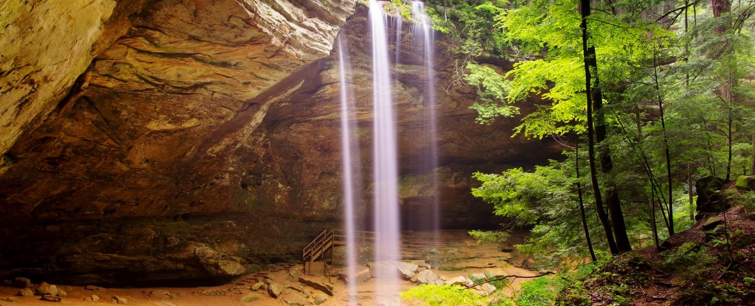 Ash Cave in Hocking Hills, OH