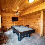 Bear Fork pool table