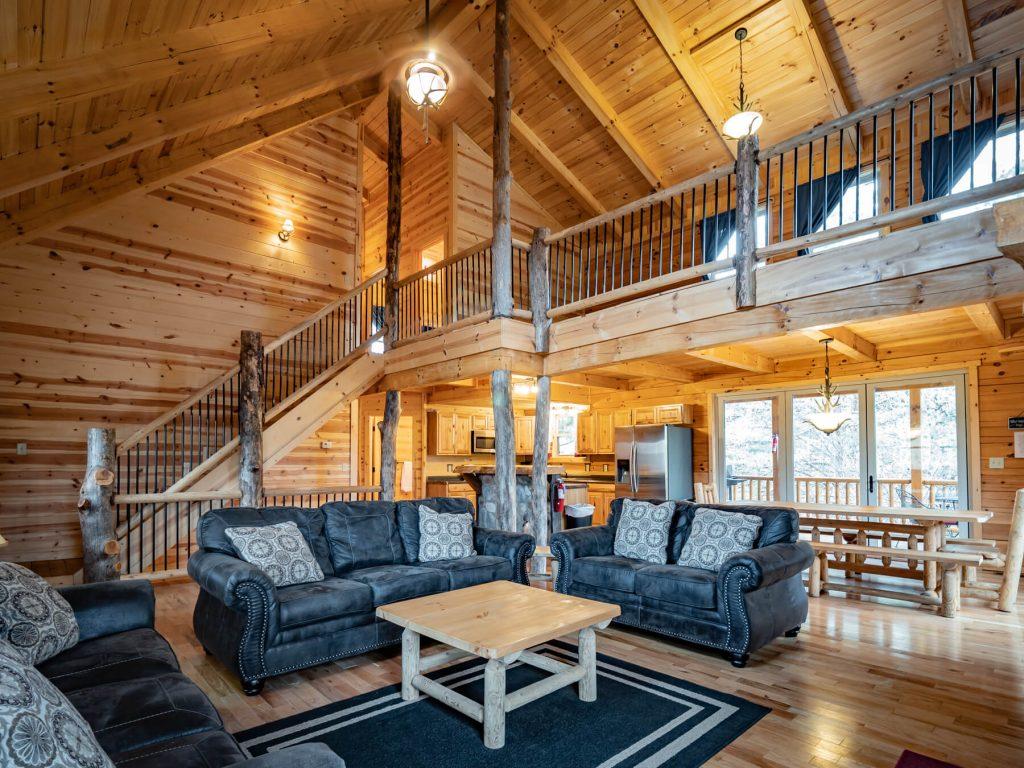 Bison Lodge living area