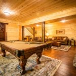 pool table in Thelma's Retreat