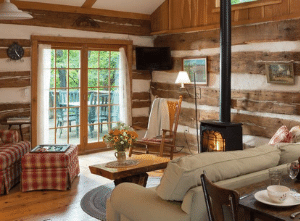 Interior view of Cabin.